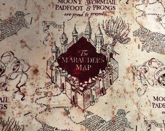photo regarding Marauders Map Printable Pdf named Marauders map Etsy