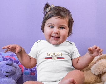 55419d420 Brand Unisex Bodysuit Brand Logo Kid Bodysuit Brand Baby Body Designer Baby  Clothes Baby Shower Gift Baby Girl Cotton Clothing CO1162