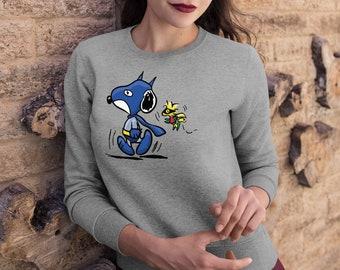 Vintage 90s Snoopy Sweatshirts Crew Neck Clothing Hoodie Jumper Cartoon  Pullover Peanuts Hoody Printed Sweatshirt Charlie Brown UT1122 04f1611c2c1