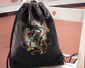 19c824ce8ab Tigers Backpack Gucci Old School Gucci Inspired Vintage Tigers Shoulder Bag  Gucci Rucksack Fashion Crossbody Gucci Logo Knapsack MS0181