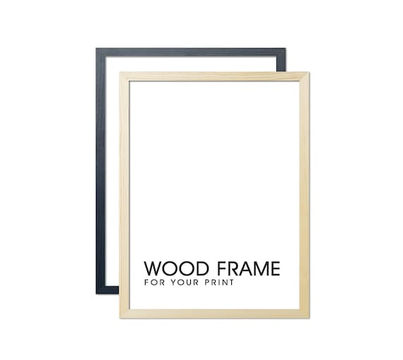 A1 A2 A3 A4 A5 Photo Frame Picture Poster Wood Frame Available In Various Colour