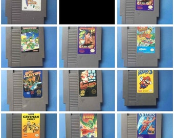 NES Nintendo Video Game - NES -- Select Your Game(s) --