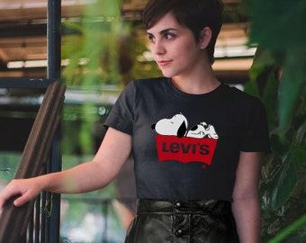 63a542797c257a Brand T-Shirt Cartoon T-Shoort Dog T-Shirt Unisex Shirt Women Clothes  Clothing For Summer Grey T-Shirt Men Clothing Vintage T-Shirt CO0075