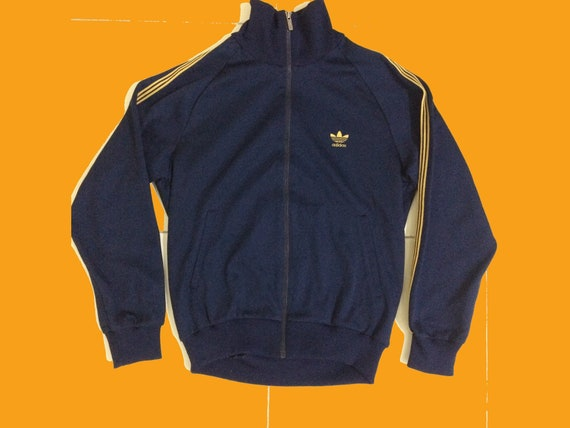 rare adidas vintage sweatshirt hoodie 80's retro size m from