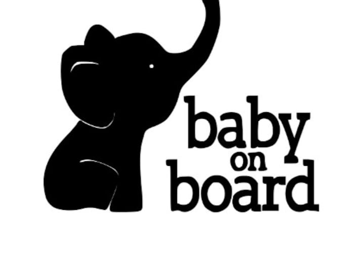 Baby on Board Decals