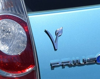 Vegan Car Emblem