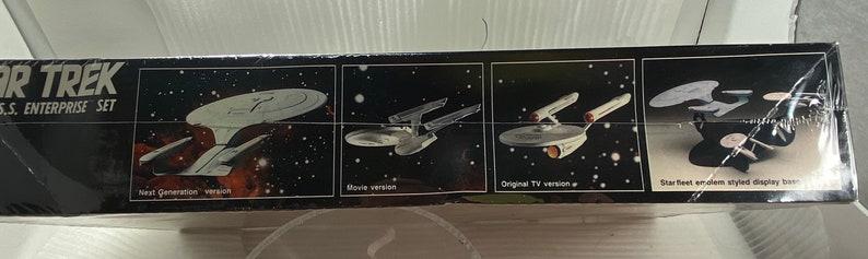 Star Trek collectible NOS AMT Enterprise Ertl Three Enterprise Ships Vintage 1988 U.S.S Model Kit