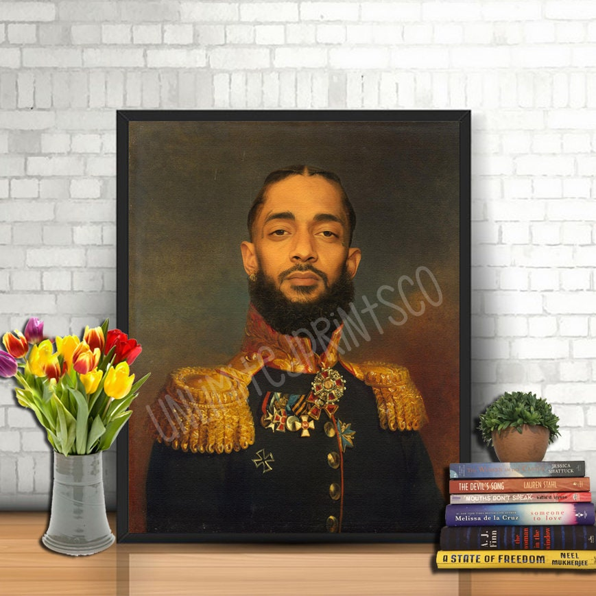 "Nipsey Hussle poster wall art home decoration photo print 24/"" x 24/"""