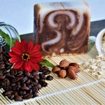 WILD Organic Coffee & Cream Soap - Soap Bar,  Natural Handmade Soap, Organic Cellulite Treatment, Non-Gmo, No Artifical Color/Fragrance/Mica