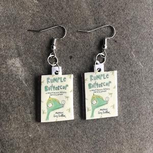 Rumple buttercup Matthew Gray gubler earrings beadsbyisabella