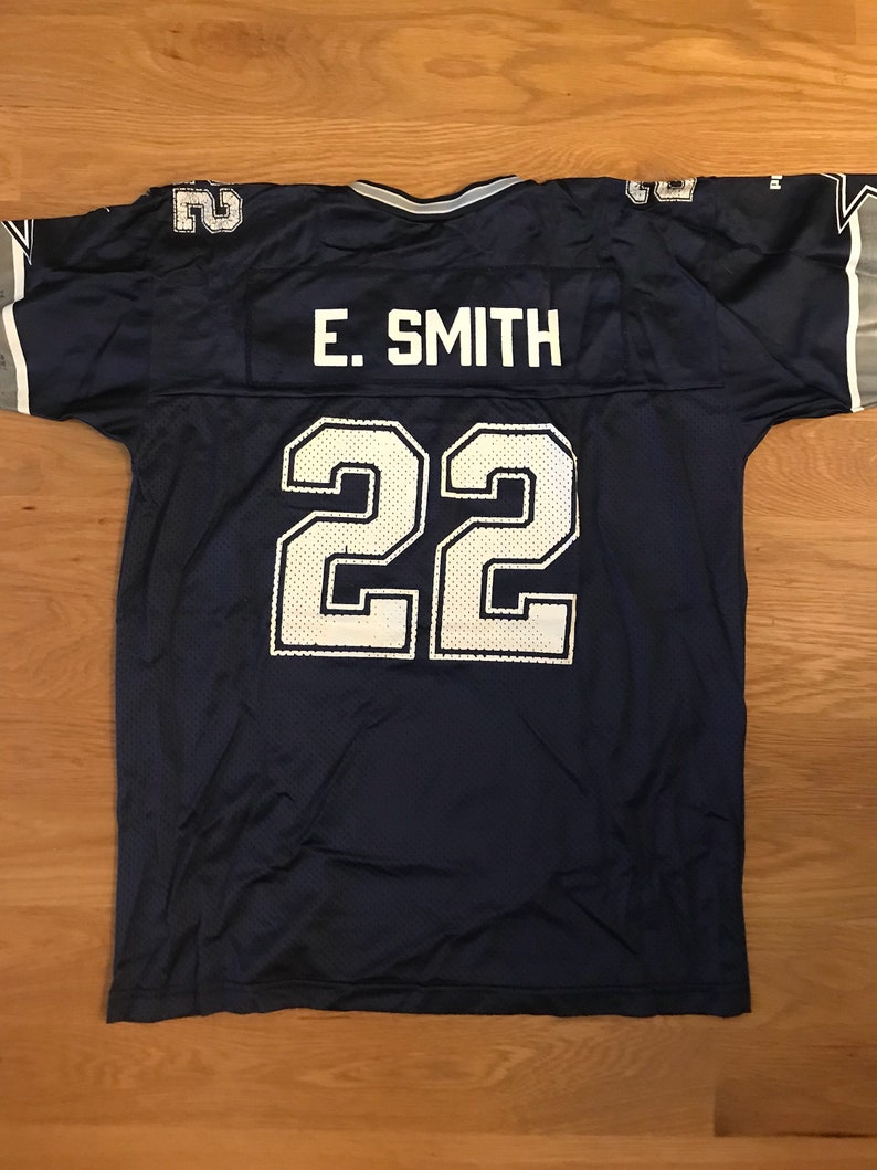 sale retailer 43574 f5a25 Vintage Emmitt Smith Cowboys jersey