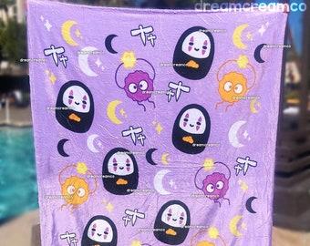 PREORDER: Spooky Spirits Fleece Blanket | Home Decor | Ultra Soft Nursery Baby Blanket | Pet Blanket