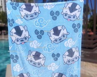 PREORDER: Cloudy Appa Fleece Blanket | Wall Art | Home Decor | Nursery Baby Blanket