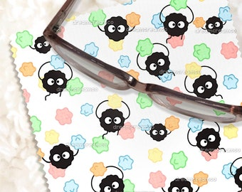 Candy Sprites Microfiber Cloth | Glasses Lens Screens Cleaning Cloth