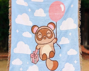 Tommy Nook Woven Throw Blanket | Home Decor | Reversible Wall Hanging Tapestry | Picnic Travel Towel | Nursery [READY TO SHIP]