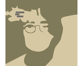 John Lennon: Imagine - Limited edition print signed by Eduardo Luzzatti