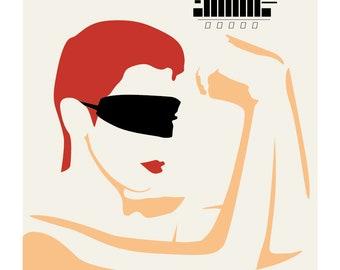 Eurythmics: Touch - Limited edition print signed by Eduardo Luzzatti