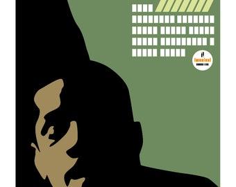 John Coltrane: Ballads - Illustrated cover - Limited edition print signed by Eduardo Luzzatti