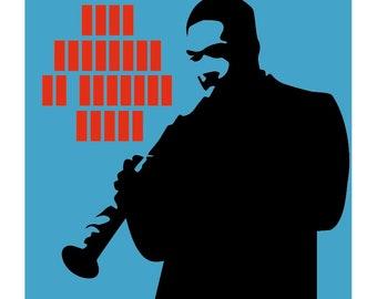 John Coltrane: My Favorite Things - Limited edition print signed by Eduardo Luzzatti