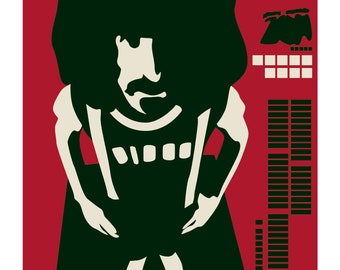 Frank Zappa: Lumpy Gravy - Limited edition print signed by Eduardo Luzzatti