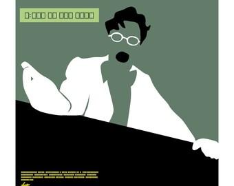 DEVO: Q Are We Not Men A We Are Devo! - Limited edition print signed by Eduardo Luzzatti