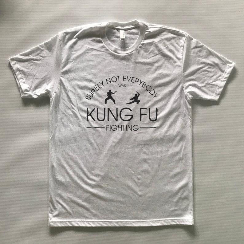 Kung Fu Fighting Funny Tshirt T Shirt Joke Birthday Gifts For