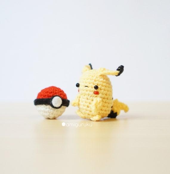 Crochet Pattern of Ash Ketchum Pokemon with Mini Pikachu &   Etsy