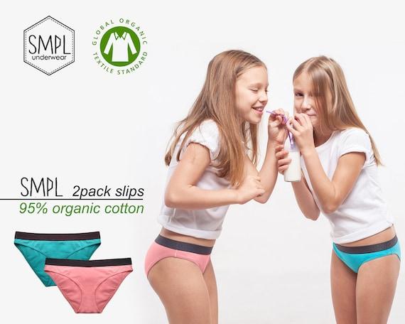 SMPL KIDS Organic cotton underwear 2 pack | Etsy