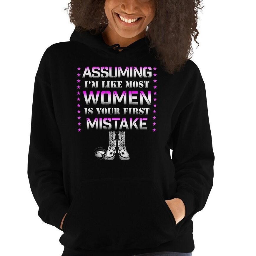 65fe7292 Female Veteran Hoodie Hooded Sweatshirt Women Veterans Day | Etsy