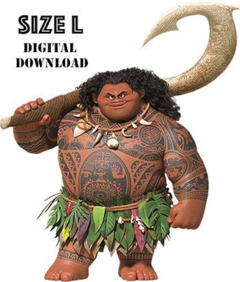042e1fc30321e Maui Moana tatouages dessins. Costume DIY. Téléchargement