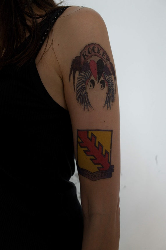 Axl Rose Temporary Tattoos Set For Cosplayers Guns Nroses