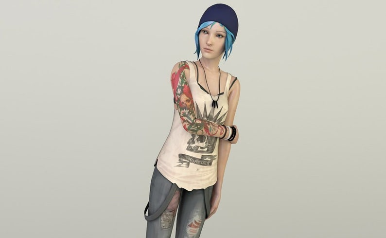 745acce9e16 Chloe Price Life is Strange Temporary Tattoos Set for | Etsy