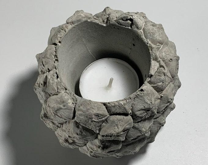 PINEAPPLE POT HOLDER - Concrete Pineapple - Pineapple Planter - Succulent Planter - Tea Table Decor - Home Decor Gift - Tea Light holder