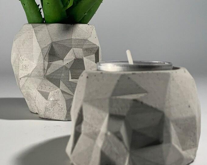 SKULL DECOR - Free tea light holder - Home Decoration - Succulent Planter -  Pencil Holder - Dia De Los Muertos - Air plant - Skull