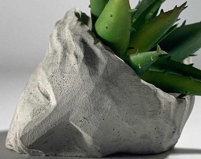 VENUS FACE PLANTER - Greek Statue Planter - Face Planter Pot - Concrete Decorations - Figurines Planters - Handmade Plant Pot