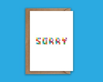Sorry - Greeting Card
