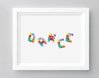 Dance - Print