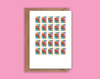 Blank - Greeting Card