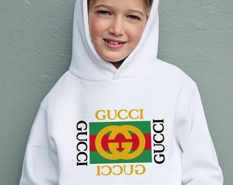 Gucci Inspired Hoodie Fashion Gift For Her Him Birthday Present Unisex Teen  Clothing Baby Gucci Girl Kids Sweatshirt Disney UP0015 24f1691a0db