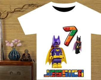 The Lego Batman Movie Batgirl Birthday Shirt