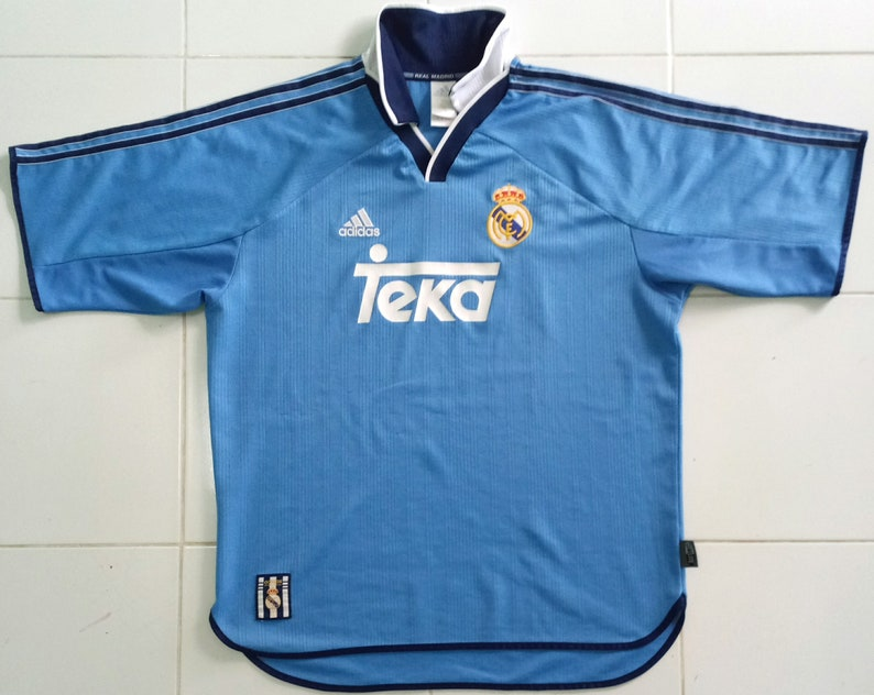 45b04e0dd Vintage 1999-2000s Real madrid Shirt-Jersey Adidas Take