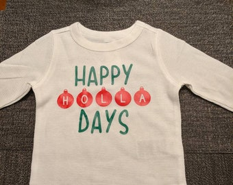 Happy Holla Days Graphic Tee 1591364f8