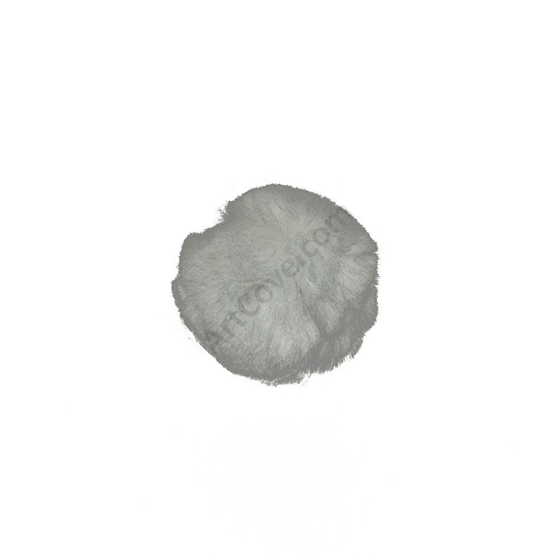 2 Inch Grey Craft Pom Poms 25 Pieces