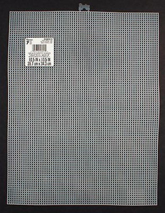 EXCEART 70 Sheets Mesh Plastic Canvas Kit Clear Plastic Canvas and Embroidery Tools for Embroidery Plastic Canvas Craft Mixed Style