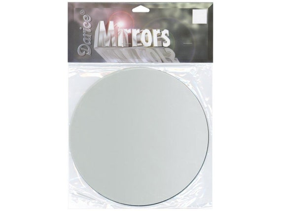 Darice Oval Glass Mirror 1 X 0.75 Inches