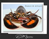 Mainah Humor Card \ Love  Card \ Naked & Afraid \ I can almost taste your STEAMY, HOT, SALTY, .... \ A6 Cards