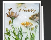 Friendship Card \  You can count on Me! \ Friends card for a women or a girlfriend \ WHIMSICAL \ A6 Cards