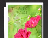 Thank you Box of 8 Cards \ from the bottom of my Heart!  \ Box of note cards with 1 design \ A2 Cards