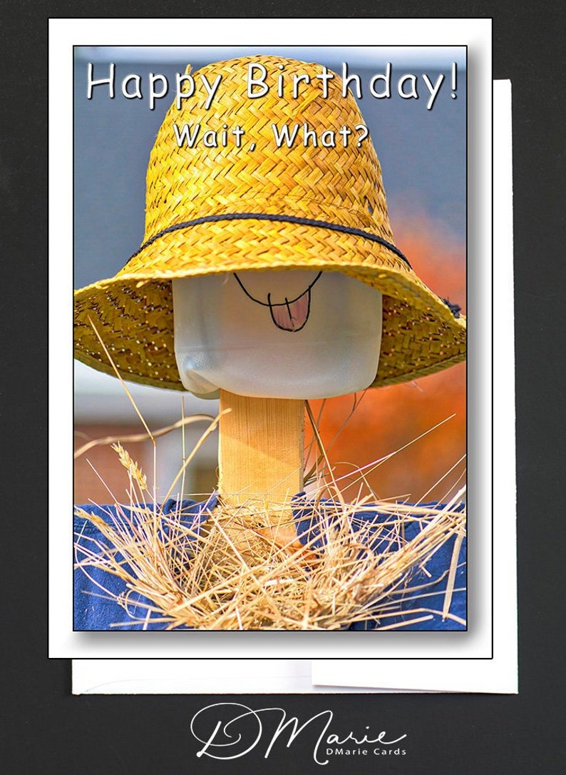 Happy Birthday Card  WHIMSICAL  Girlfriend Card  Happy image 0