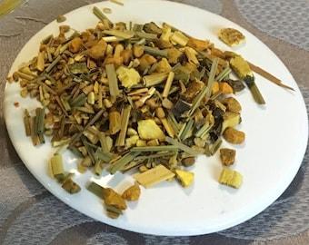 Organic Turmeric Ginger Herbal Tea/Herbal Tea/Loose Tea Leaf/The Perfect Blend/Organic Herbal Tea/Organic Loose Leaf/Turmeric Root/Tea Blend